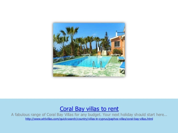 Coral Bay villas to rentA fabulous range of Coral Bay Villas for any budget. Your next holiday should start here...       ...