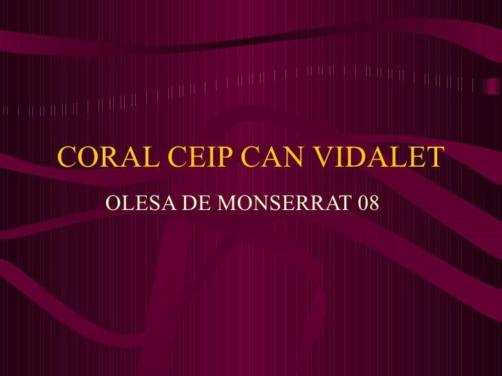 CORAL CEIP CAN VIDALET OLESA DE MONSERRAT 08