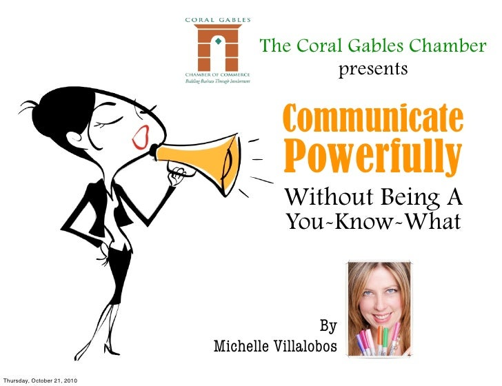 The Coral Gables Chamber                                             presents                                         Comm...