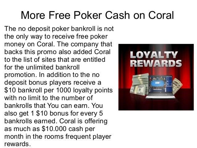No Deposit Bonus Poker Rooms
