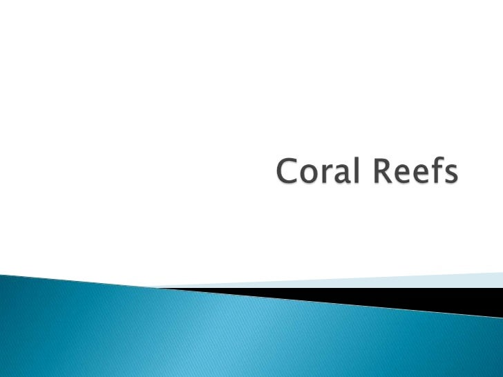    Coral reefs are accumulated dead skeletal matter    built up by carbonate-secreting organisms.