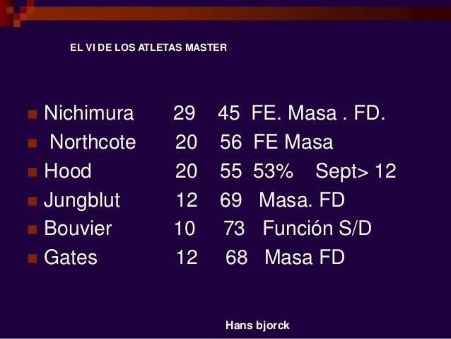  Nichimura 29 45 FE. Masa . FD.  Northcote 20 56 FE Masa  Hood 20 55 53% Sept> 12  Jungblut 12 69 Masa. FD  Bouvier 1...