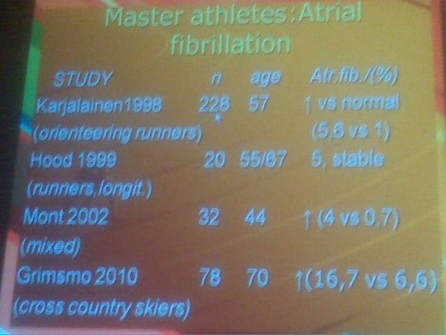 En master existe incremento de la masa, DDVI y AI En extop atletas: CAI y probable volumen VI incrementa arritmias?