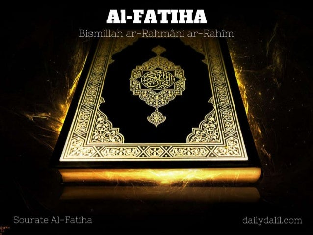 Coran en français sourate Al Fatiha - Daily Dalil