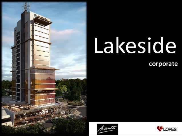 Lakeside                                                              corporateMaterial para treinamento e de uso exclusiv...