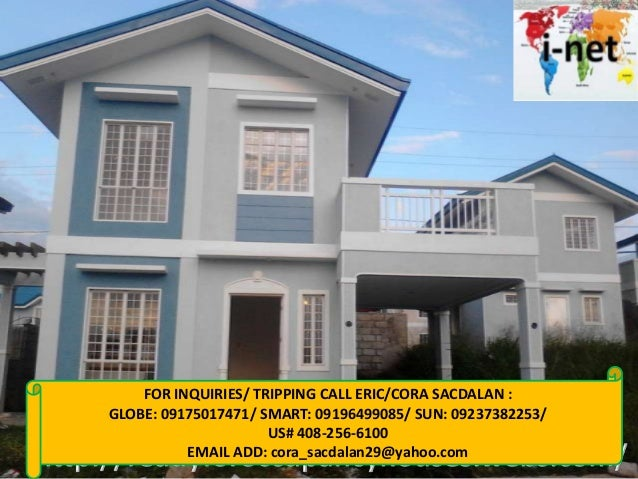 FOR INQUIRIES/ TRIPPING CALL ERIC/CORA SACDALAN : GLOBE: 09175017471/ SMART: 09196499085/ SUN: 09237382253/ US# 408-256-61...