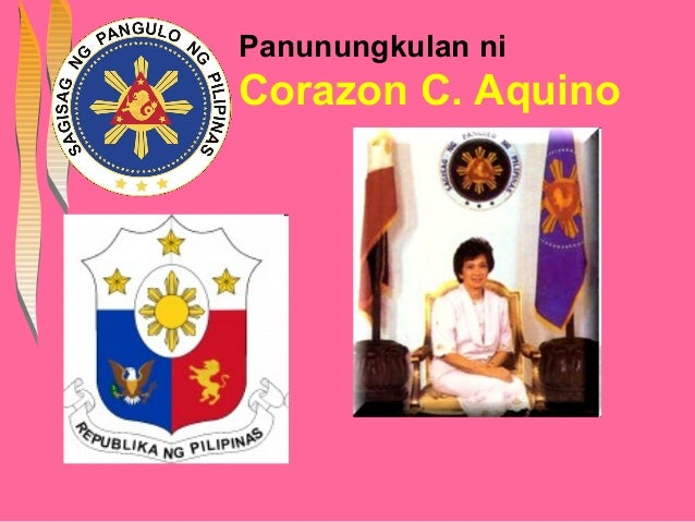 Panunungkulan niCorazon C. Aquino