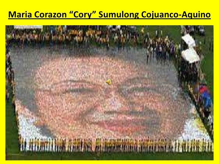 "Maria Corazon ""Cory"" SumulongCojuanco-Aquino<br />"