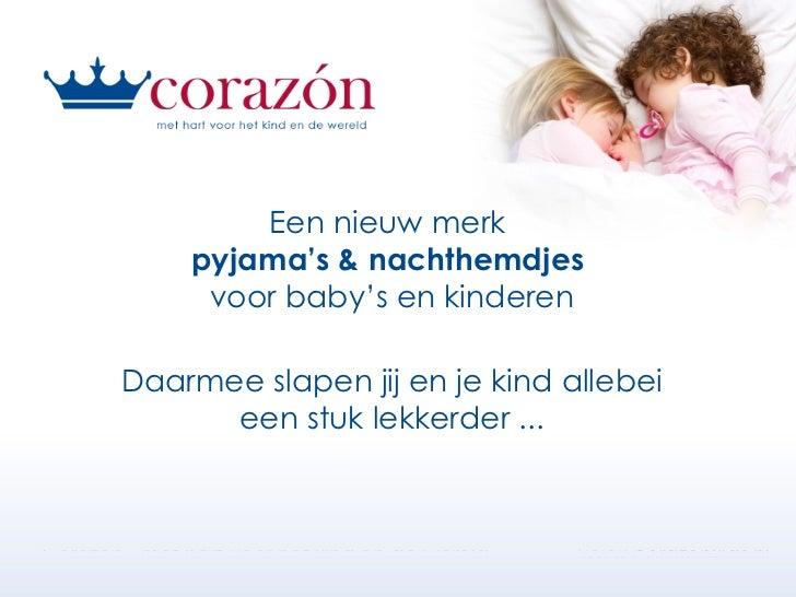 Een nieuw merk  pyjama's & nachthemdjes  voor baby's en kinderen Daarmee slapen jij en je kind allebei een stuk lekkerder ...