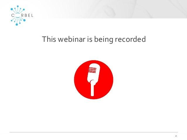 CORBEL BBMRI-ERIC QM webinar slides Slide 2