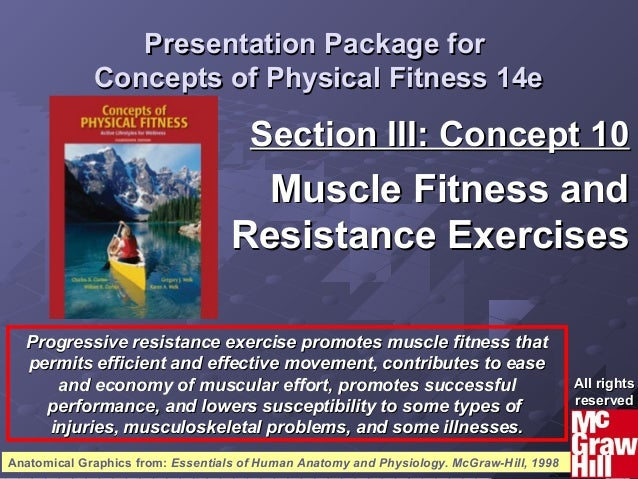 11Concepts of Physical Fitness 14eConcepts of Physical Fitness 14e Presentation Package forPresentation Package for Concep...