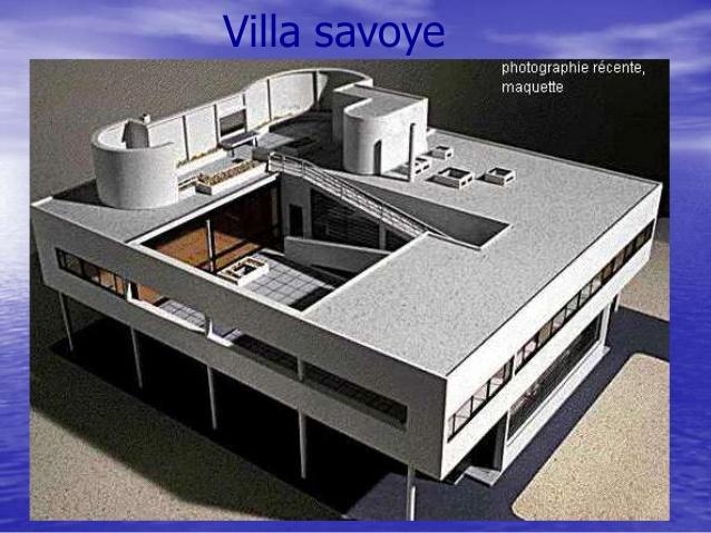 Top Corbusier et ces principe YO43
