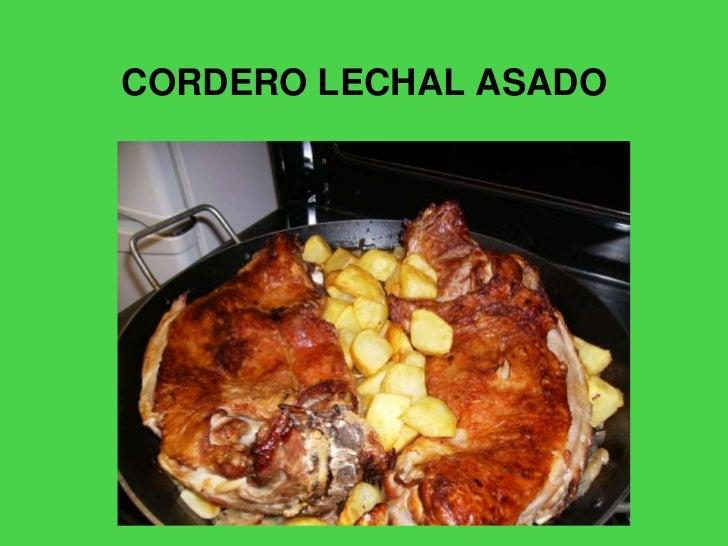 CORDERO LECHAL ASADO