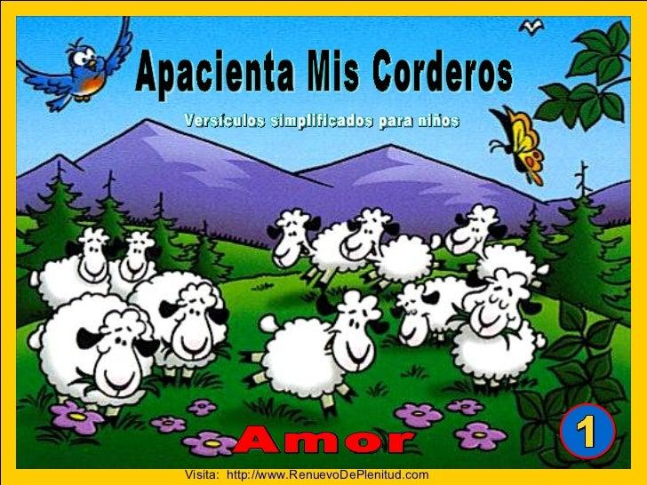 """Tomado del curso de memorización  """"Apacienta Mis Corderos""""  Aurora Productions AG Switzerland. All rights reserved.  Arte ..."""