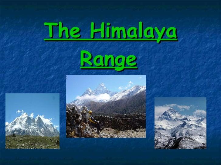 Cordillera del himalaya.