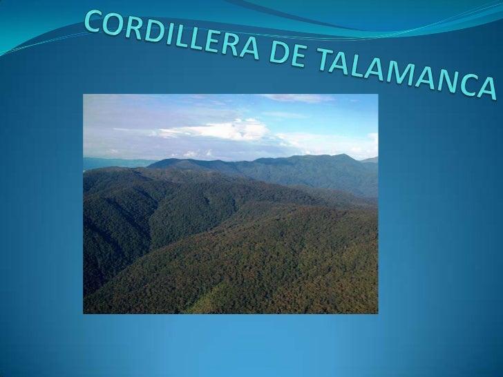 Resultado de imagen de Reserva de la cordillera de Talamanca