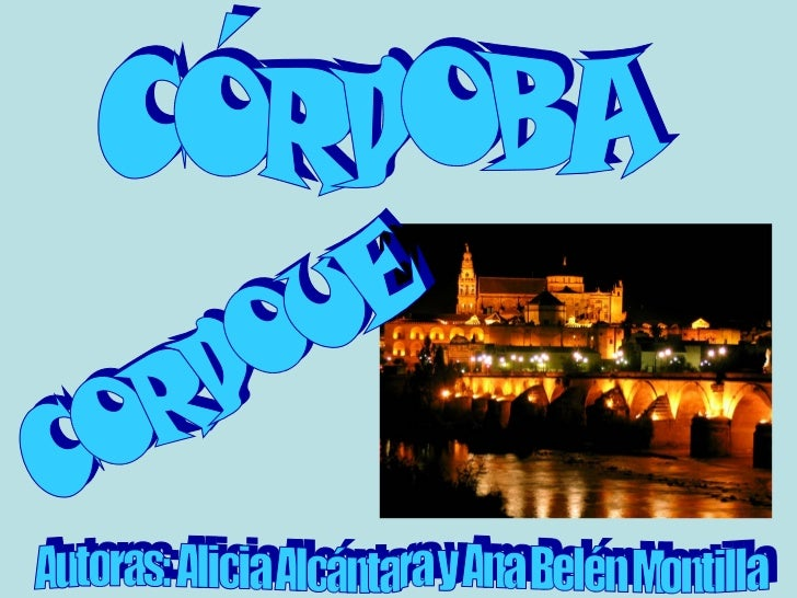 CORDUBA (época Romana).Se cree que Córdoba comenzó a ser una ciudad con importancia hacia el siglo II a.C.Aún se conservan...