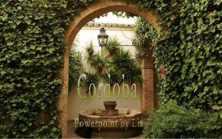 Cordoba Powerpoint by Lia