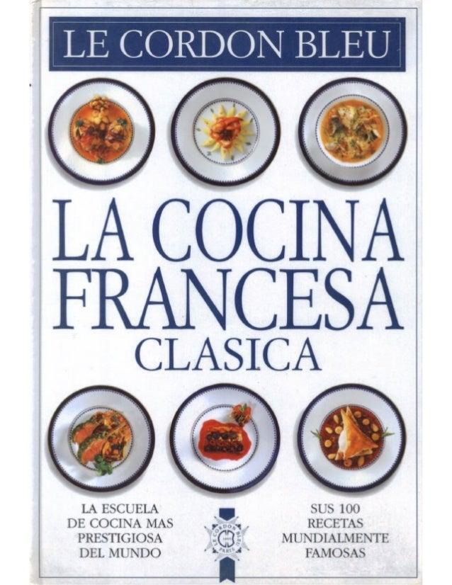 Cordon bleu   cocina francesa clásica