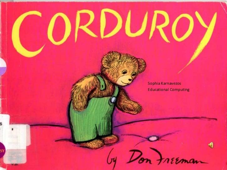 Corduroy Book Pdf
