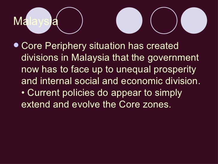 core periphery definition