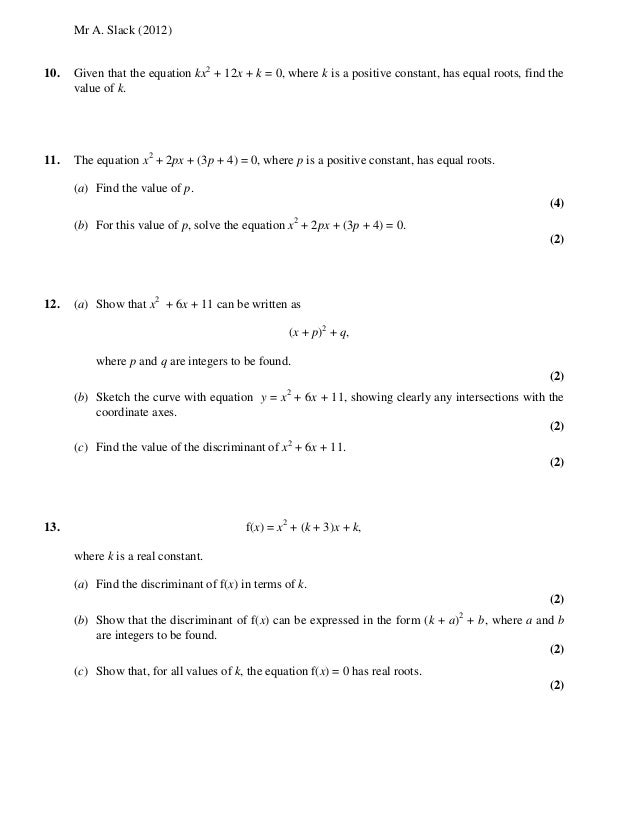 core mathametics c4 Core mathematics c4 for edexcel advanced level paper d time: 1 hour 30 minutes instructions and information candidates may use any calculator except those with the facility for symbolic algebra, differ.
