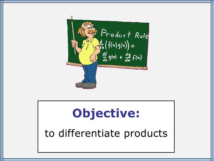 rule quotient core differentiate