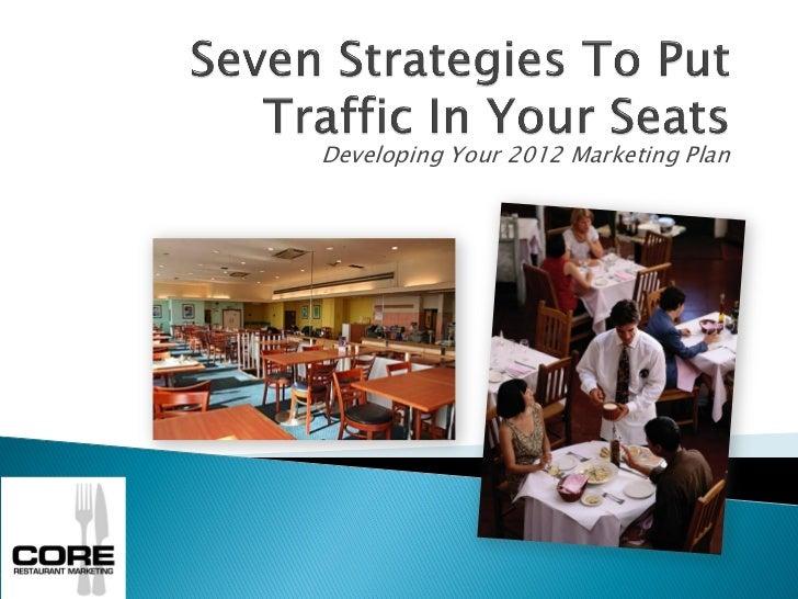 Developing Your 2012 Marketing Plan