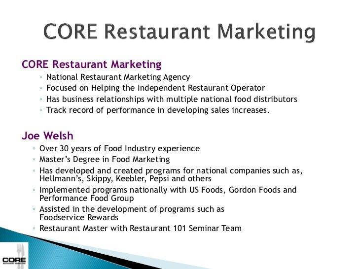 Core 7 Strategies To Increase Restaurant Traffic