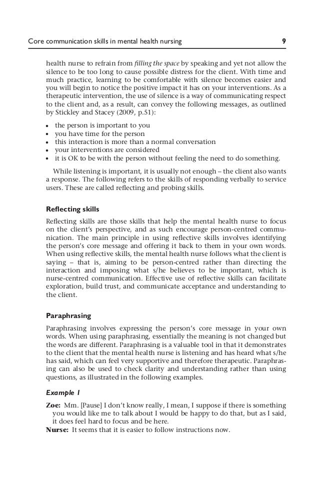 communication simulation in psychiatric nursing Additional free nursing simulation scenarios two more resources for free medical simulation scenarios to add to my previous articles (kansas state board of nursing free simulation scenarios, free emergency medicine scenarios, and free nursing.