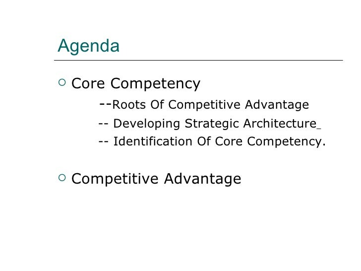 What Core Competencies Give an Organization Competitive Advantage?