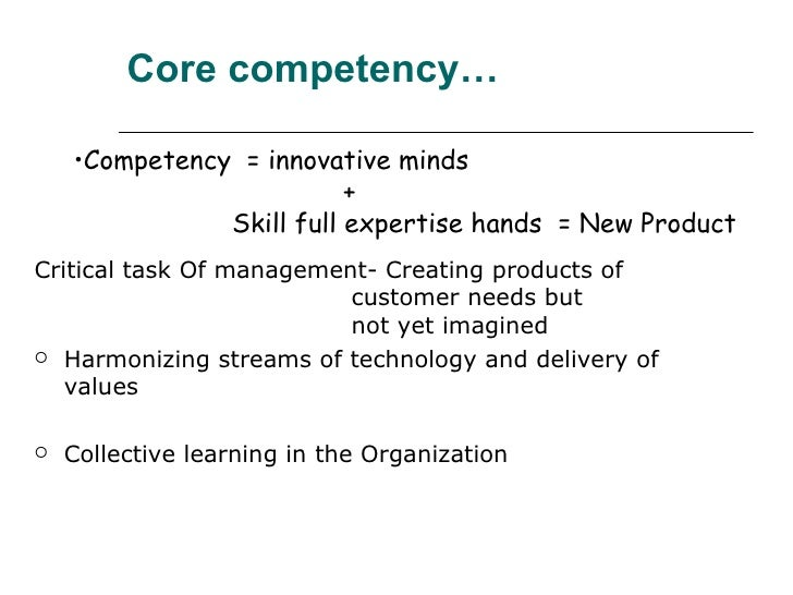 Competencies and Competitive Advantage of Old Chang Kee