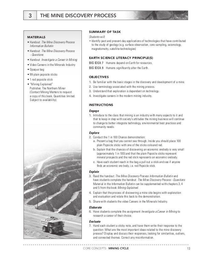 principle of earth science essay