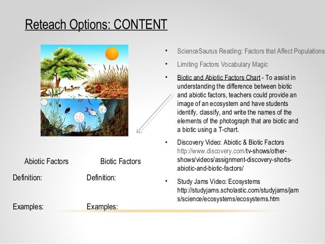 biotic components paper Free essay: biotic component paper biotic components paper in this paper i will conduct research on the bolsa chica wetlands that are located in an area of.