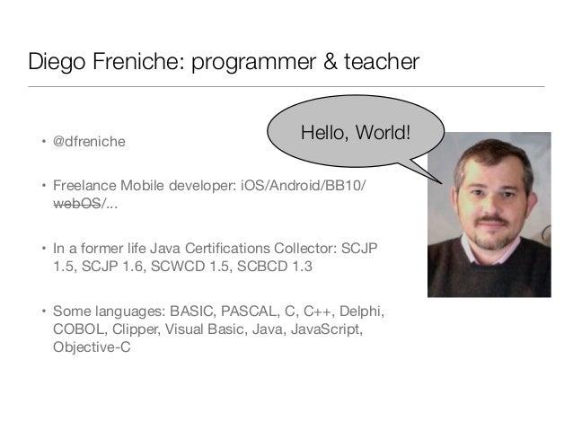 Core data basic Workshop slides NSSpain 2013 Slide 3