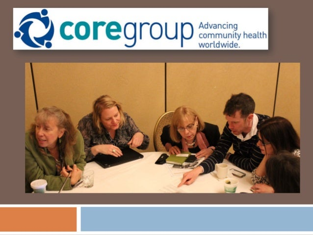 ADVANCING COMMUNITY HEALTH ACROSS THE CONTINUUM OF CARE APRIL 2015