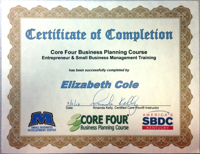Core four business planning