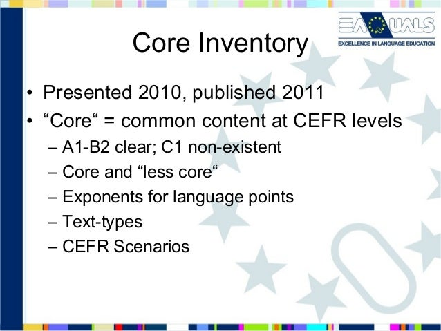 Core inventory for french   nov13 Slide 2