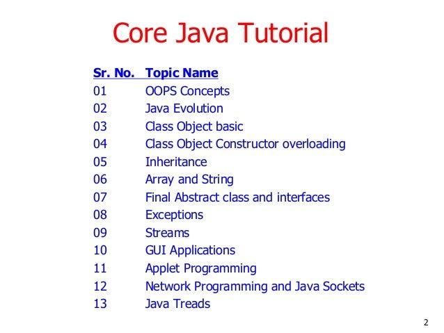 Learn core java tutorial online training by nagoor babu sir on 01.