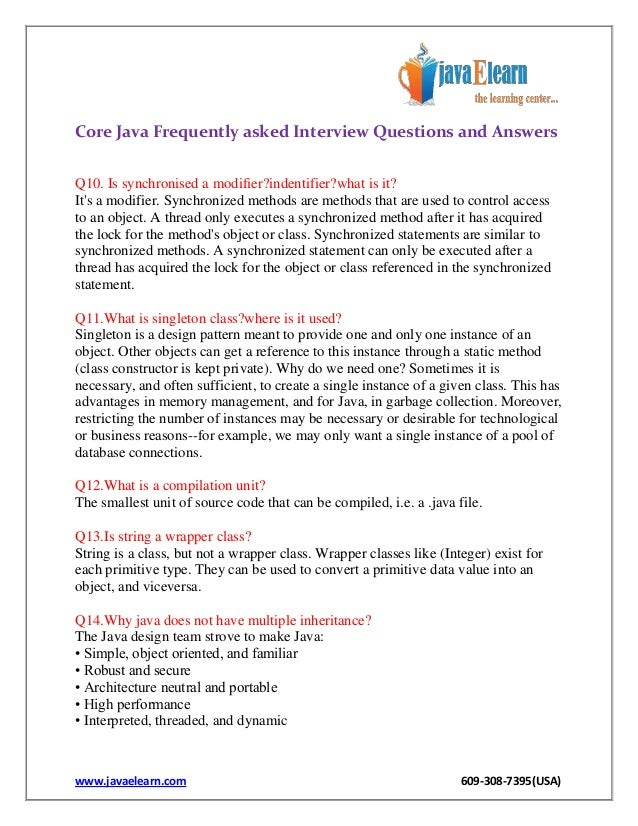 Access Control Java Questions amp Answers Sanfoundry - mandegar info