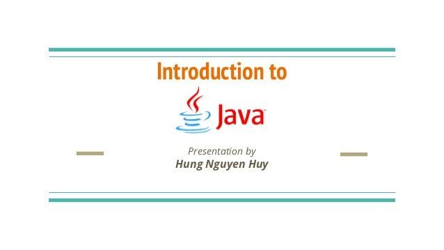 Core Java Introduction | Basics