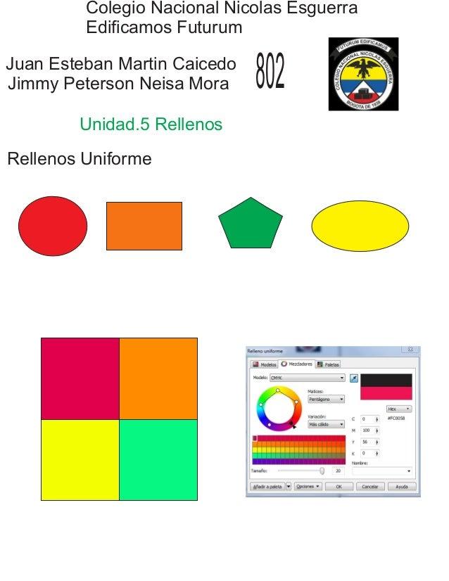 Colegio Nacional Nicolas Esguerra Edificamos Futurum Juan Esteban Martin Caicedo Jimmy Peterson Neisa Mora 802 Unidad.5 Re...