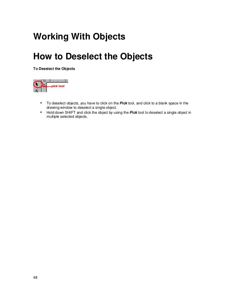 Corel draw learning file