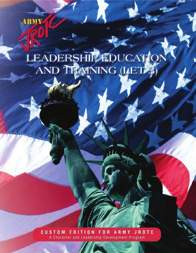 LEADERSHIP EDUCATION   AND TRAINING (LET 3)                        With material selected from:    The Career Fitness Prog...