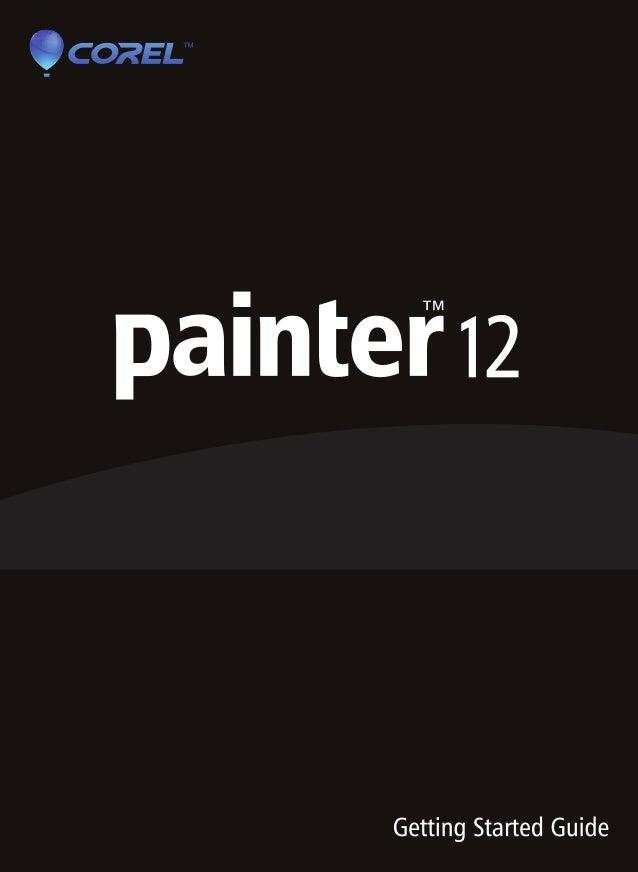 corel painter 12 pdf rh slideshare net Getting Started Law Corel Corporation Canada