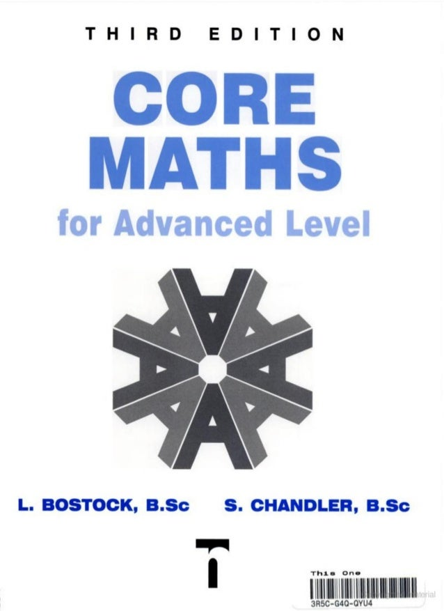 Core maths for a level 3rd edition by lstock sandler hidden page 8 fandeluxe Image collections