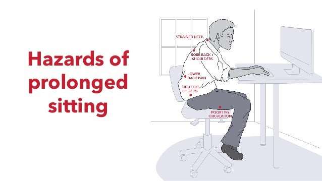 Hazards of prolonged sitting