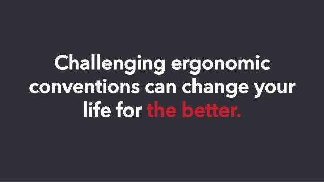 How to Break the Barriers of Office Ergonomics Slide 3