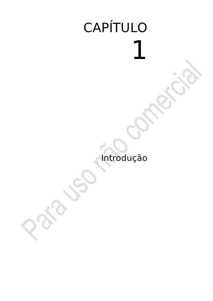CAPÍTULO        1  Introdução