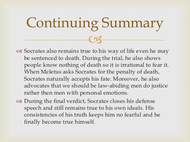 socrates apology